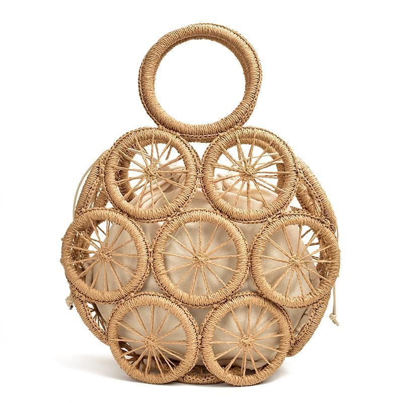 Round Straw Bag - more styles available