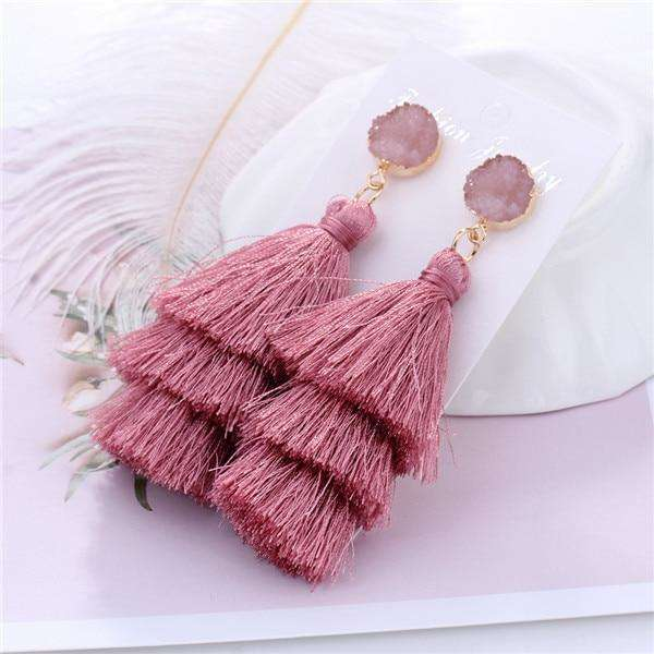 Boho Long Tassel Earrings - more colours available