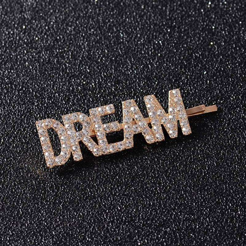3Pcs/Set Love, Dream and Hope Hair Clips