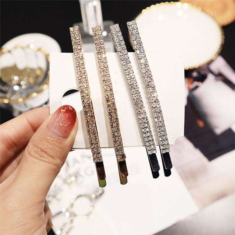 Crystal Rhinestones Hair Clips - more colours available