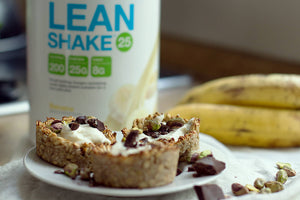 Canastitos de Banana y Lean Shake