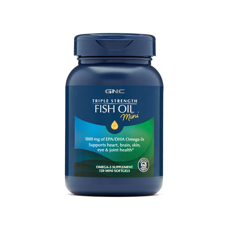Fish Oil Triple Strength Mini - GNC - Fish Oil / Aceite de Pescado