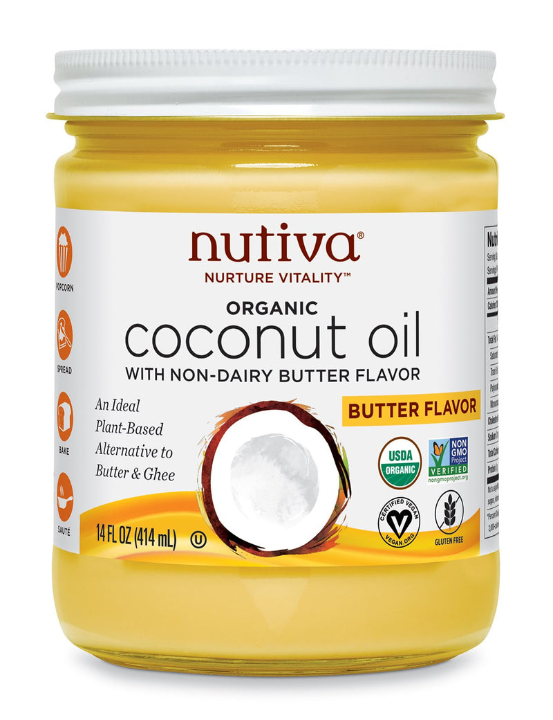 Coconut Oil - 414 ml - Buttery Flavor