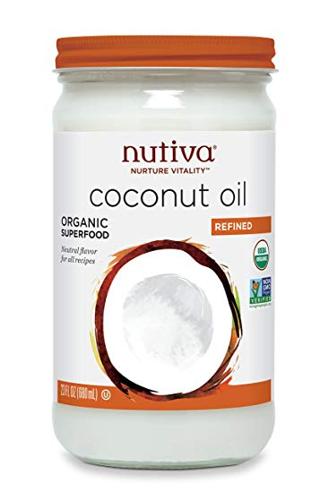 Coconut Oil Organic Refined  - 680 ml - Unflavored