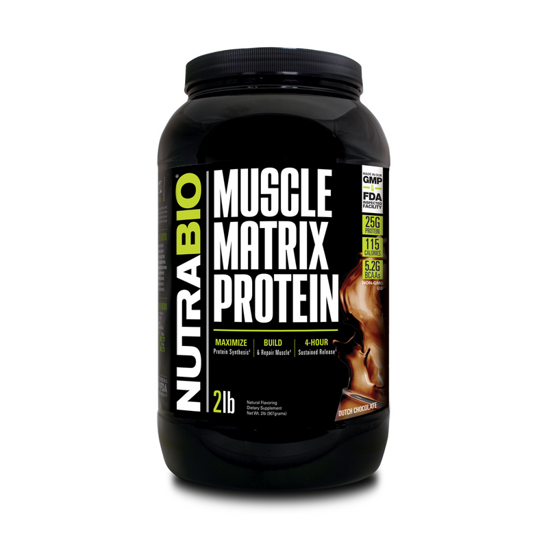 Muscle Matrix Protein - NUTRABIO - Blend Proteinas
