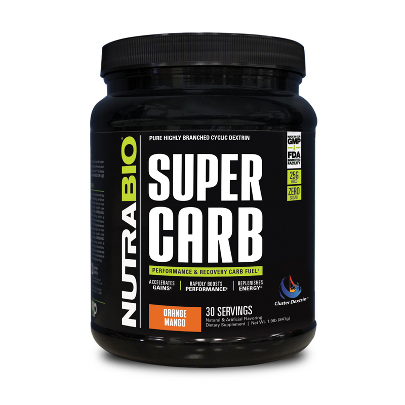 Super Carb - NUTRABIO - Carbohidratos