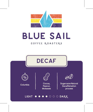 Decaf : Colombia 12 oz. Bag