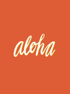 Aloha Orange - Large