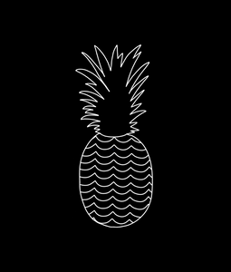 Black Pineapple - Large