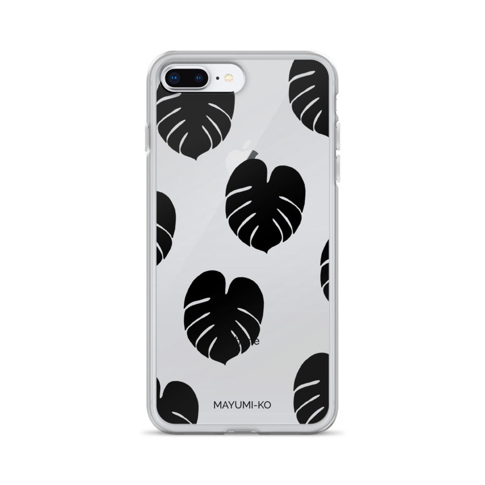 Simple Monstera iPhone Case