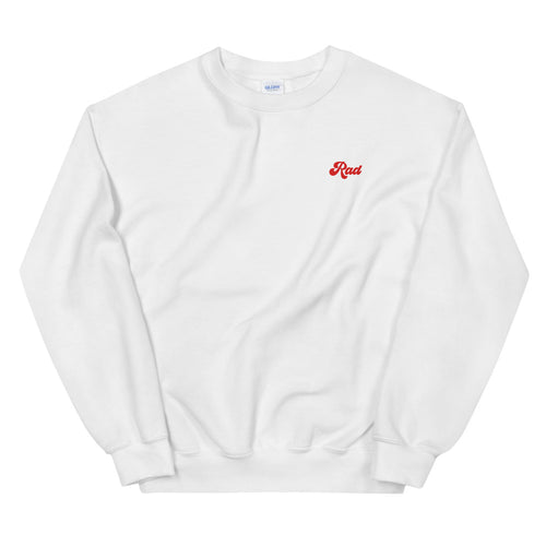 Red Rad Unisex Crew Sweatshirt
