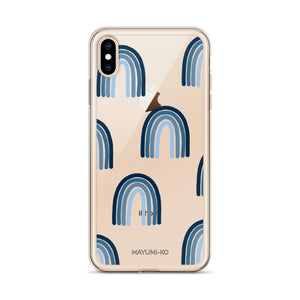 Rainbow Blues iPhone Case