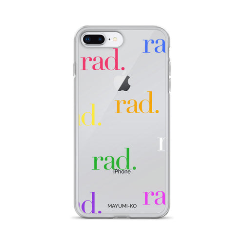 Rainbow Rad iPhone Case