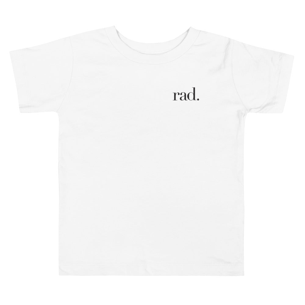 Rad Toddler Short Sleeve Tee