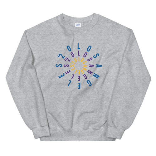 Lakers + Dodgers Los Angeles '20 Unisex Crew Sweatshirt