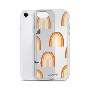 Warm Rainbow iPhone Case