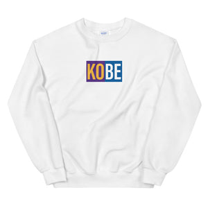 Kobe Lakers + Dodgers 2020 Champs Unisex Crew Sweatshirt