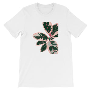 Ruby Rubber Plant Unisex Tee