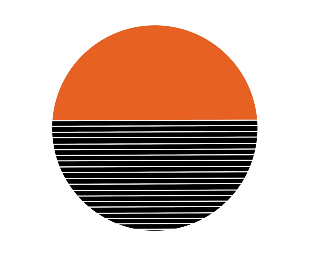 Modern Horizon - Orange
