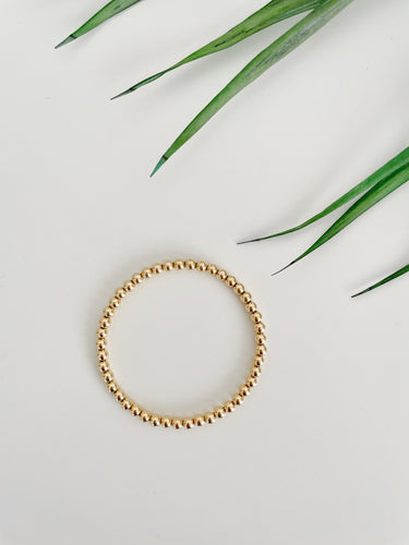 Selena 14k Gold Filled Bead Bracelet