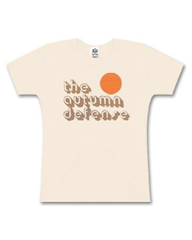 Girly Autumn Defense Tee in Cream