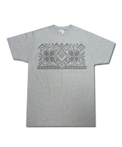 Grey Argyle T-shirt