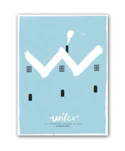 W Hill Poster