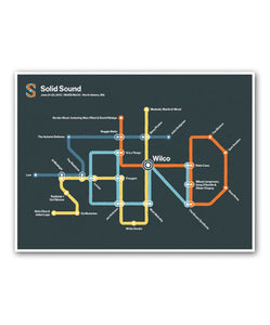 Solid Sound 2013 Transit Poster