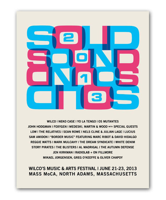 Solid Sound 2013 CM Poster
