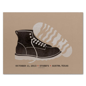 Stubb's Work Boot Poster