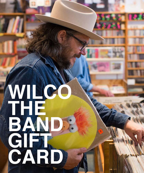 Wilco the Band Gift Card