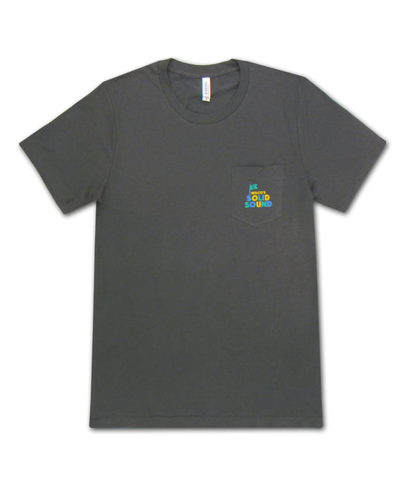 Solid Sound 2015 Land Pocket T-shirt