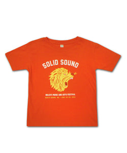 Kid's Solid Sound Lion Tee