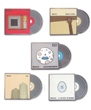 Album Lapel Pin Set - Volume 1
