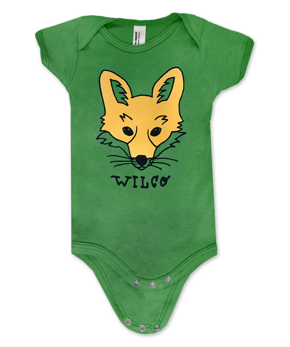 Yellow Fox Onesie
