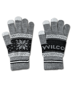 Snowflake Winter Gloves