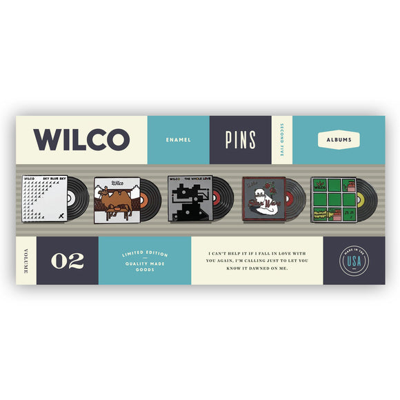 Album Lapel Pin Set - Volume 2