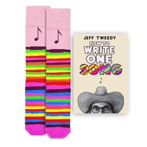 Jeff Tweedy One Song Book + Socks Bundle
