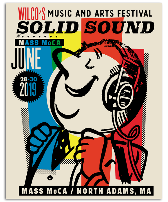 Solid Sound 2019 Cartoon Poster