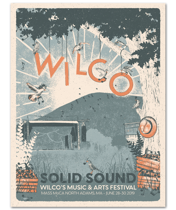 Solid Sound 2019 Joe's Field Poster