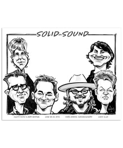 Solid Sound 2019 Caricature Poster