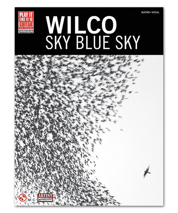 Sky Blue Sky Guitar Tab Book