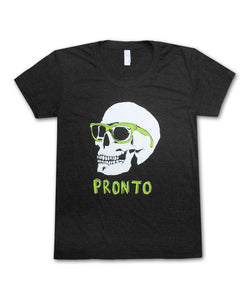 Girl's Pronto Skull with Sunglasses Tee