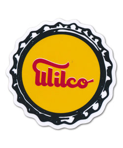 Bottlecap Logo Sticker