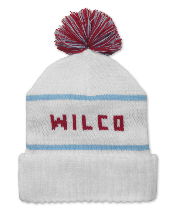 Chicago Flag Knit Hat