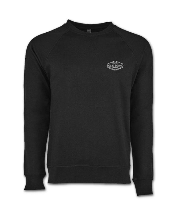 Solid Sound 2017 Embroidered Sweatshirt - BLACK