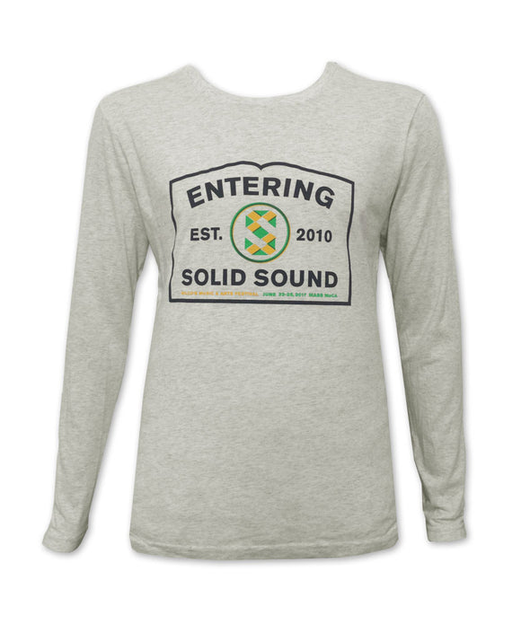 Entering Solid Sound 2017 L/S Tee