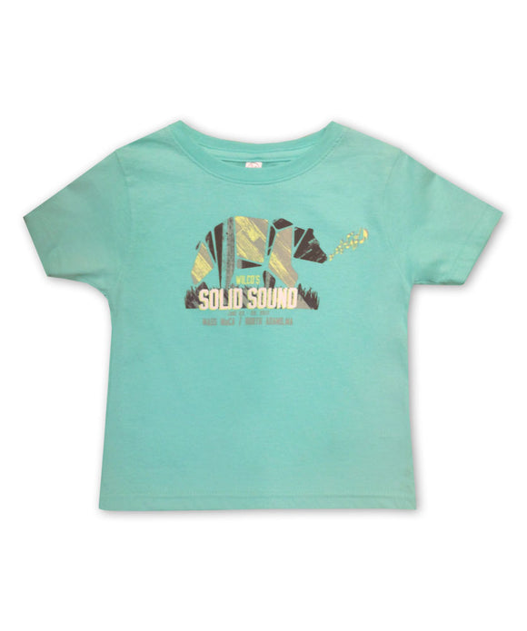 Kid's Solid Sound 2017 Bear T-shirt