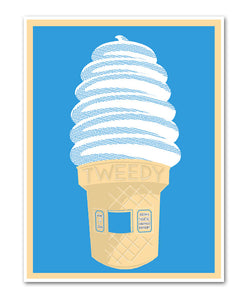Tweedy Frosty Poster