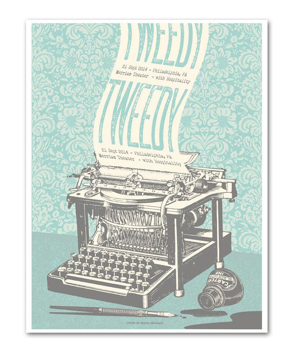 Tweedy - Merriam Theater Poster